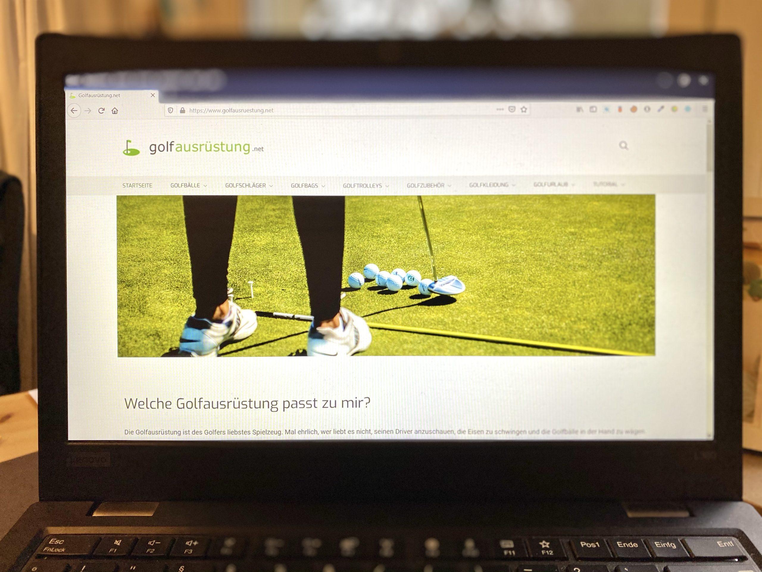 Golfausruestung.net – Affiliate Marketing, E-Commerce